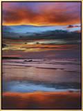 Thunderstorm Clouds over Timor Sea Before Monsoon Impressão em tela emoldurada por Frank Krahmer