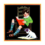 Book Report - Child Life Giclee Print by Keith Ward
