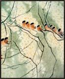 Aroma of Early Spring Impressão em tela emoldurada por Minrong Wu