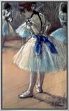 Dancer Framed Canvas Print by Edgar Degas