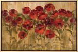 Sunshine Florals Impressão em tela emoldurada por Silvia Vassileva