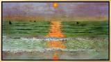 Sunset, 1913 Framed Canvas Print by Félix Vallotton