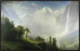Majesty of the Mountains 額入りキャンバスプリント : アルバート・ビアスタット