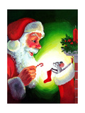 A Creature Was Stirring - Jack & Jill Giclee Print by Rae Owings