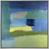 Abstract No.10 Impressão em tela emoldurada por Diana Ong