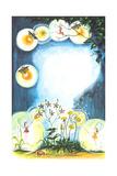 Midsummer Eve - Jack & Jill Giclee Print by Susan Carlton Smith