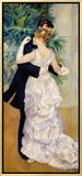 Dance in the City, 1883 Framed Canvas Print by Pierre-Auguste Renoir