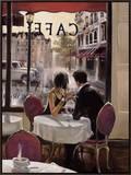 Fim de tarde Impressão em tela emoldurada por Brent Heighton