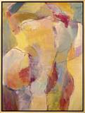 Abstract No.6 Impressão em tela emoldurada por Diana Ong