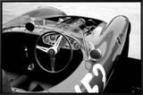Ferrari Cockpit Impressão em tela emoldurada por  NaxArt