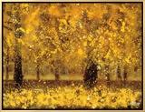 Golden Age Impressão em tela emoldurada por Pihua Hsu