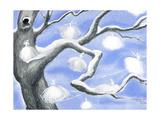 Frost Fairies - Jack & Jill Giclee Print by Laura Jean Allen