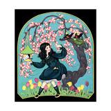Birdhouse - Child Life Giclee Print by Hazel Frazee
