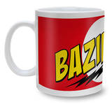 Big Bang Theory Mug - Bazinga Red Becher