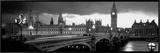 London Framed Canvas Print by Jerry Driendl