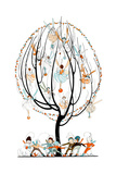 Fairy Lanterns - Child Life Giclee Print by Annette Cremin