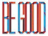 Be Good Giclée-Druck von Aaron Eiland