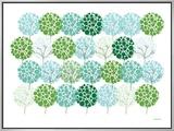 Green Park Impressão em tela emoldurada por  Avalisa