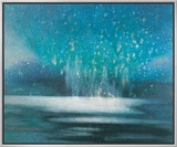 Starry Sky Impressão em tela emoldurada por Yunlan He