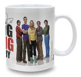 Big Bang Theory Mug - Group Portrait Taza