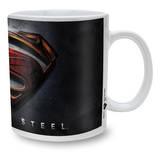 Man Of Steel Mug - 3D Logo  Krus