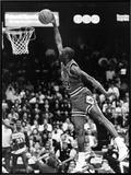 Michael Jordan - 1989 Framed Canvas Print by Vandell Cobb