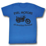 Evel Knievel - Evel Motors T-skjorter