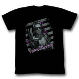 Terminator - Purple T-Shirts
