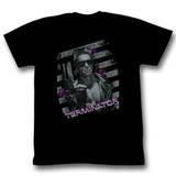 Terminator - Purple Camisetas