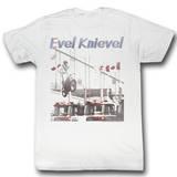 Evel Knievel - Jump High T-skjorter