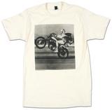 Evel Knievel - Wheelie T-skjorte