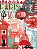 Paris Liberty Posters par  Blonde Attitude