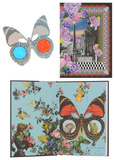 Christian Lacroix Papier Surrearlistic Hardbound Journal Diário