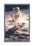 Apollo 11: Man on the Moon Metal Print
