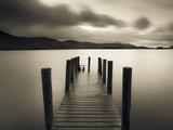 Bahía de Barrow, Derwent Water, Distrito de los Lagos, Cumbria, Inglaterra Arte sobre metal por Gavin Hellier