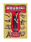 Houdini: The World's Handcuff King and Prison Breaker Metalltrykk