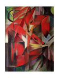 The Fox, 1913 Metal Print by Franz Marc