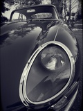 E-Type Jag Metalldrucke von Tim Kahane