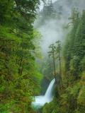 Metlako Falls and Mist Metal Print by Vincent James