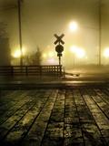 Foggy Night Metal Print by Jody Miller