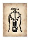 Vintage Wine Opener 1 Metal Print by  NaxArt