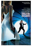 James Bond (The Living Daylights One-Sheet) Movie Poster Print Impressão original