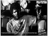 Pulp Fiction - Bad Mother F*cker Movie Poster Mestertrykk