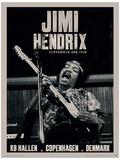 Jimi Hendrix (Copenhagen) Music Poster Neuheit