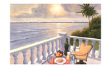Breakfast on the Veranda Affiches par Diane Romanello