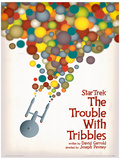 Star Trek - The Trouble With Tribbles Vintage Style Television Poster Neuheit
