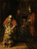 Return of the Prodigal Son, c. 1669 高画質プリント