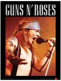 Guns N Roses (Axl) Music Poster Stampa master