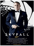 James Bond (Skyfall One Sheet - Black) Movie Poster Print Impressão original