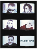 Radiohead - Tvs Music Poster Stampa master